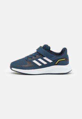 RUNFALCON 2.0 UNISEX - Neutral running shoes - crew navy/footwear white/legend ink
