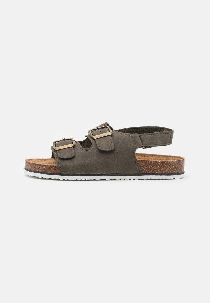 Cotton On - THEO UNISEX - Sandals - beatle green