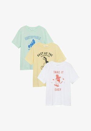 EASYPK-I - Print T-shirt - gebroken wit