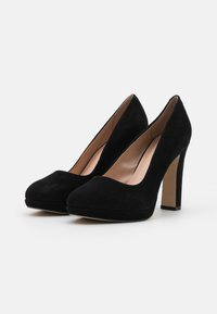 Dune London - AUTUMN - Platform heels - black - 1