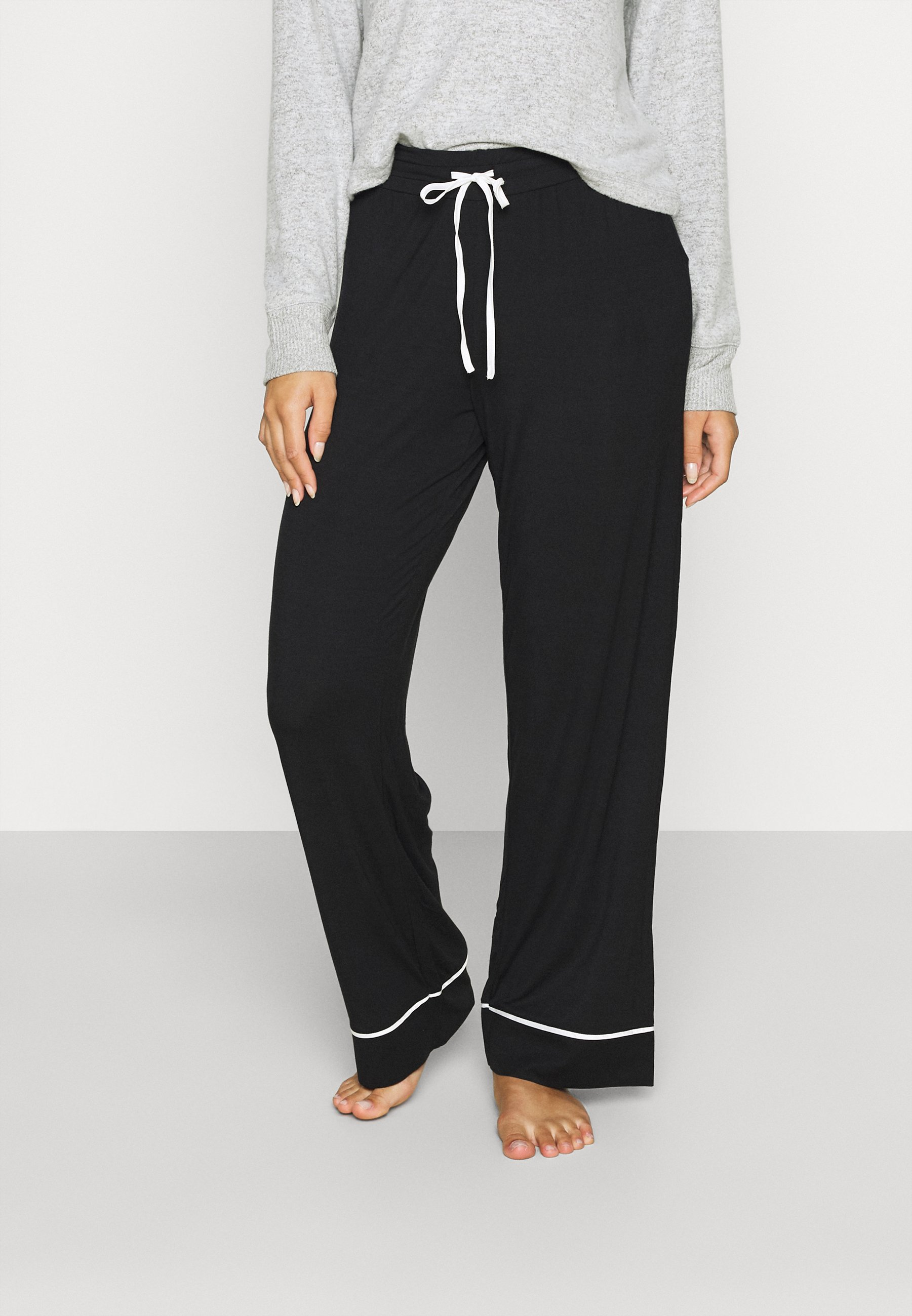 Donna MODAL PIPING PANT - Pantaloni del pigiama