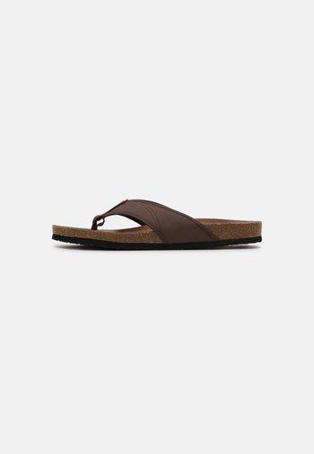 SANDAL - T-bar sandals - java