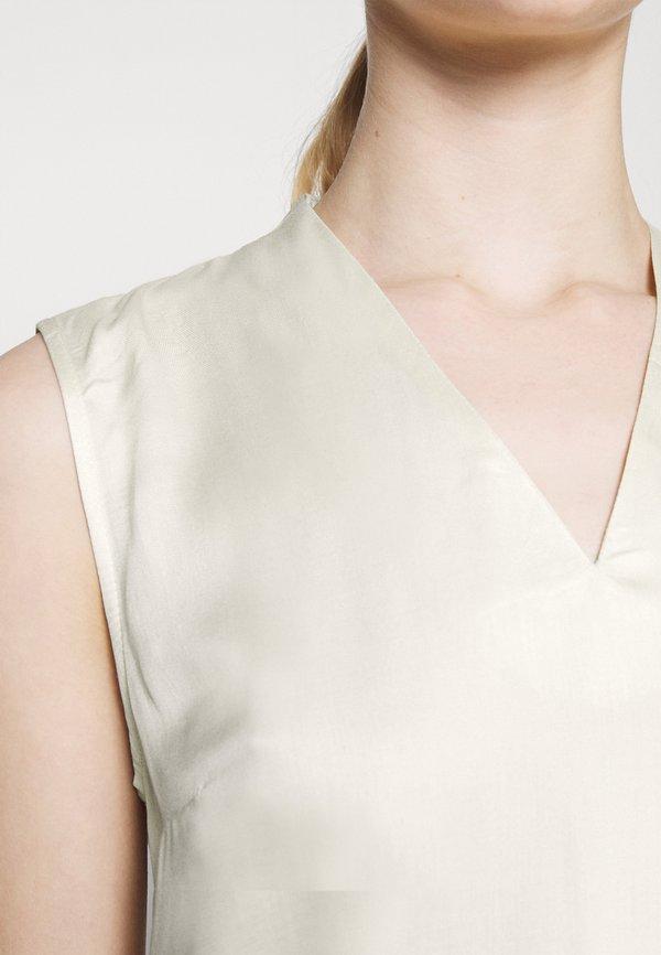 Vero Moda VMFAGIA - Bluzka - birch/beżowy NZMW