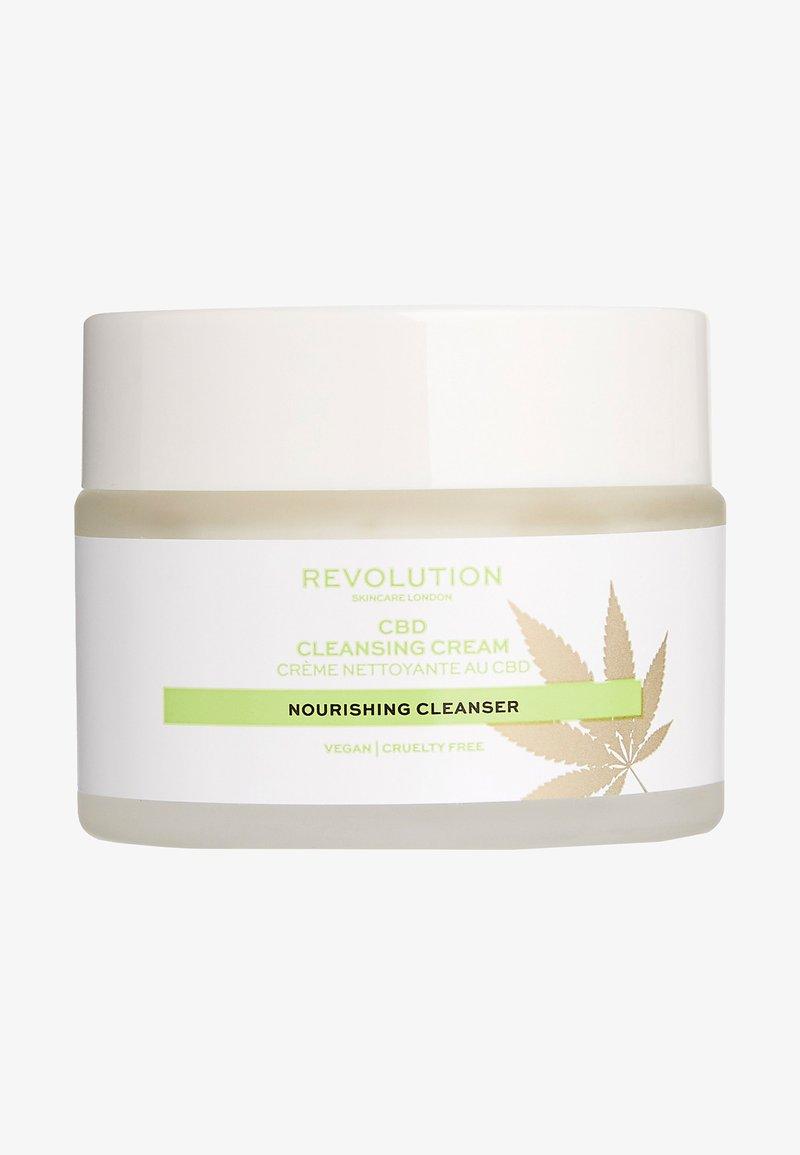 Revolution Skincare - CBD CLEANSING CREAM - Gesichtsreinigung - -