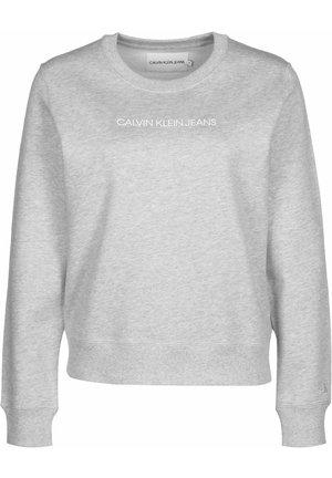 SWEATER INSTITUTIONAL REGULAR CREW NECK W - Sweatshirt - grey
