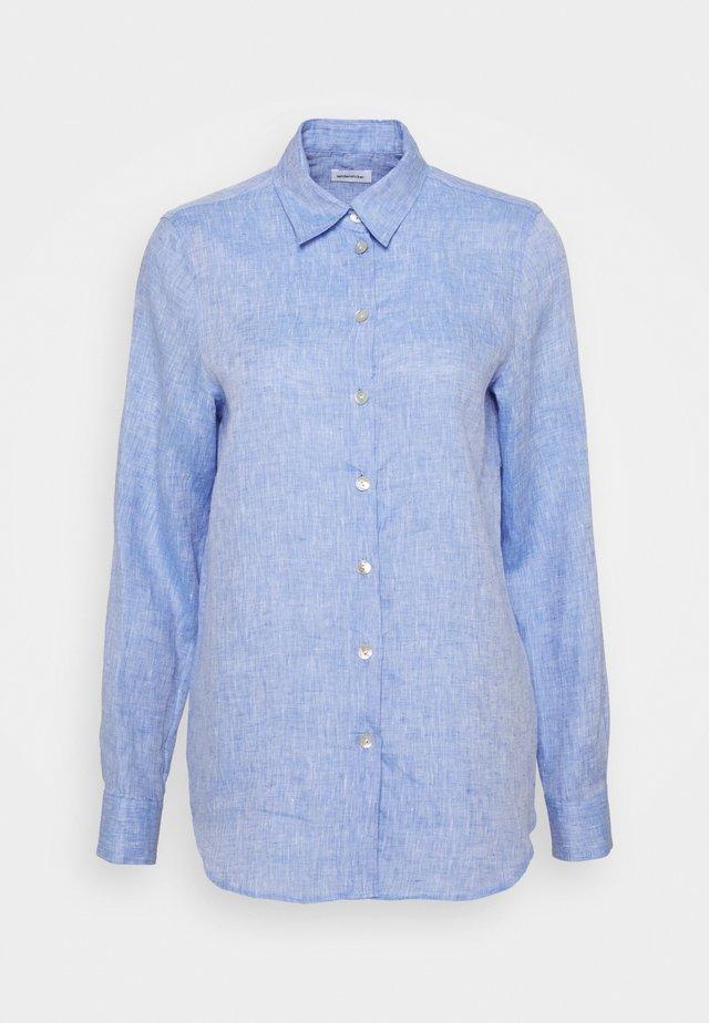 Overhemdblouse - blau