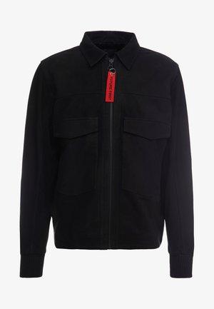 BEN - Veste en cuir - black