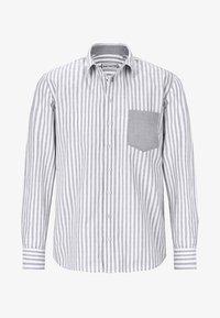 light greyt white striped