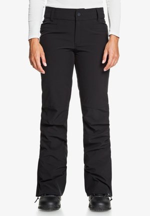 CREEK - SHELL-SCHNEE - Pants - true black