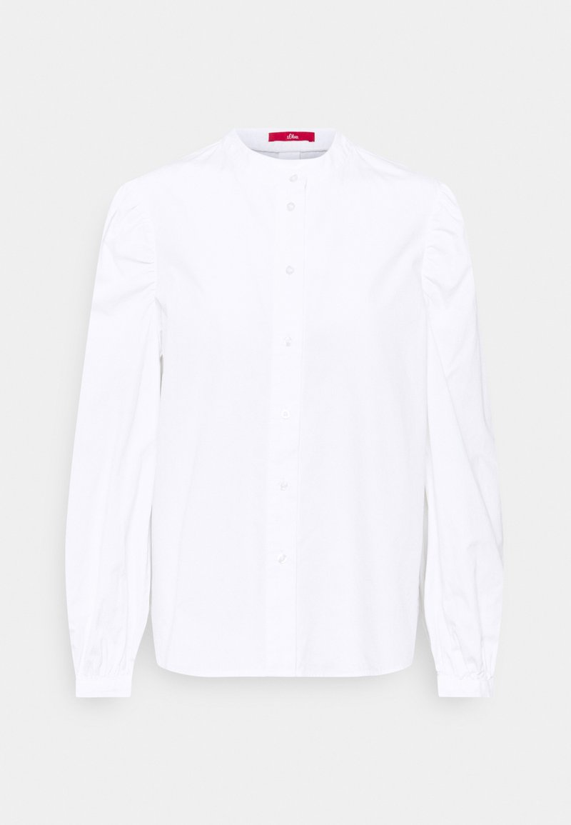 s.Oliver - Button-down blouse - white