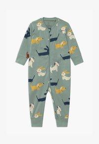 Lindex - DOGS  UNISEX - Pyjamas - light dusty aqua - 0