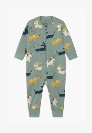 DOGS  UNISEX - Pyjamas - light dusty aqua