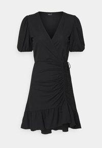 Gina Tricot - MAYA DRESS - Žerzejové šaty - black - 0