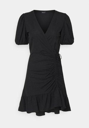 MAYA DRESS - Jerseyklänning - black