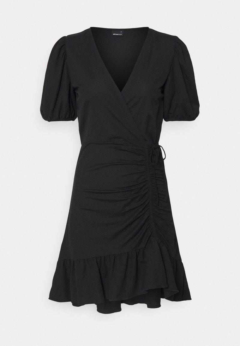Gina Tricot - MAYA DRESS - Žerzejové šaty - black
