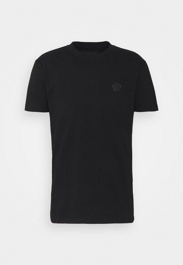SEAL  - Print T-shirt - black