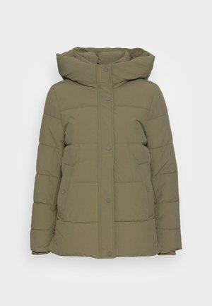 Winter jacket - dark khaki