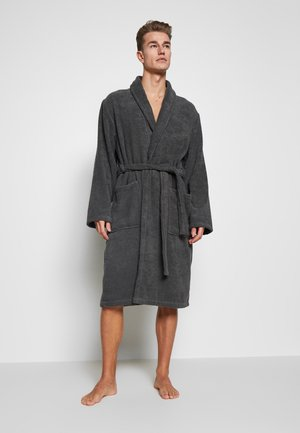 Dressing gown - dark gray