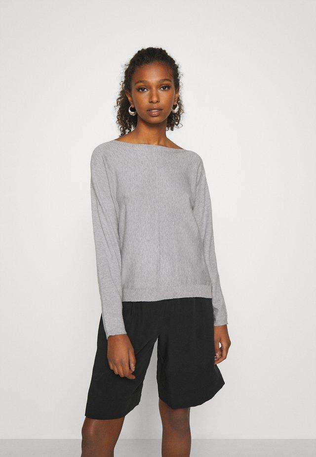 JDYPOMPEII - Sweter - light grey melange