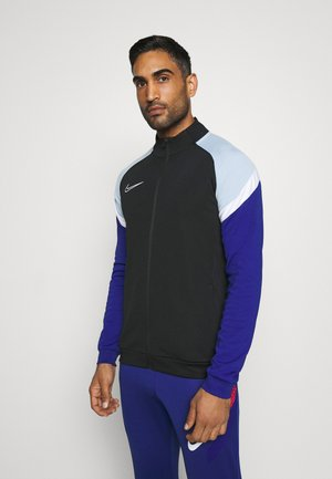 DRY ACADEMY - Veste de survêtement - black/deep royal blue/white