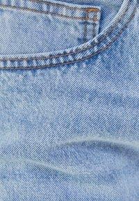 Bershka - STRAIGHT VINTAGE - Straight leg jeans - light blue - 5