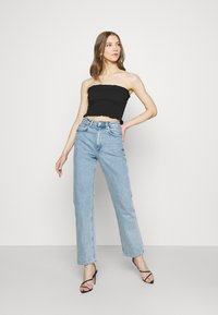 Missguided - SHEARED BANDEAU 2 PACK  - Top - black/mustard - 0