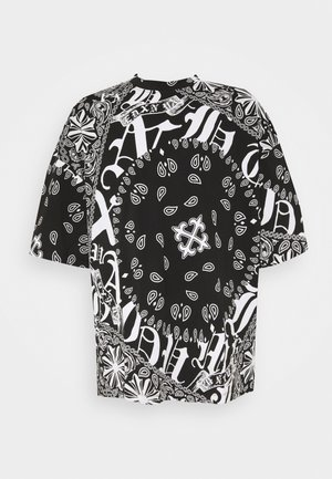 GOTHIC TILE  - Print T-shirt - black