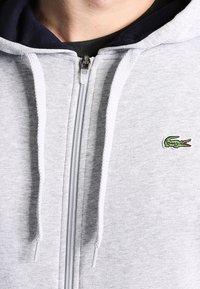 Lacoste Sport - HERREN SWEATJACKE-SH7609 - Felpa aperta - argent chine/marine - 3