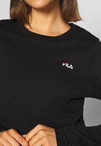 Fila - EAVEN - Long sleeved top - black - 4