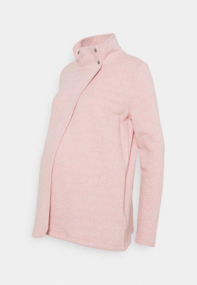 GAP Maternity - NURSING SNAP LAYERING - Chaqueta de punto - potpourri pink