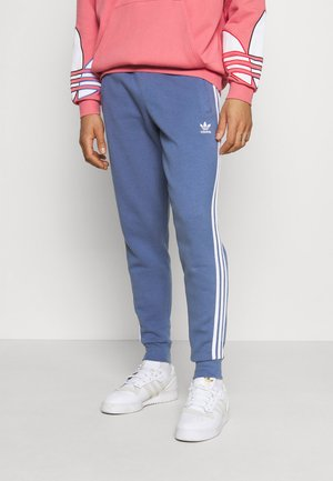 STRIPES PANT - Tracksuit bottoms - crew blue