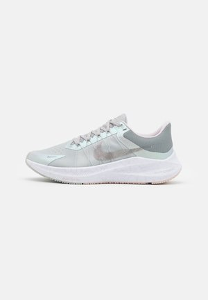 WINFLO 8 PRM - Zapatillas de running neutras - grey fog/barely rose/pale coral/metallic pewter/pink oxford/white