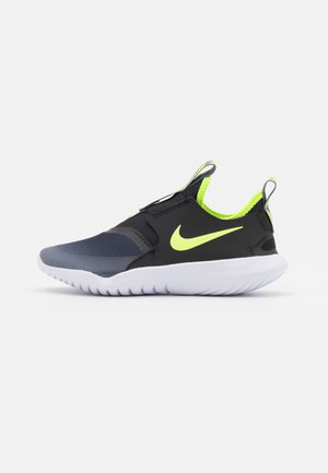 FLEX RUNNER UNISEX - Neutral running shoes - smoke grey/volt/black/white