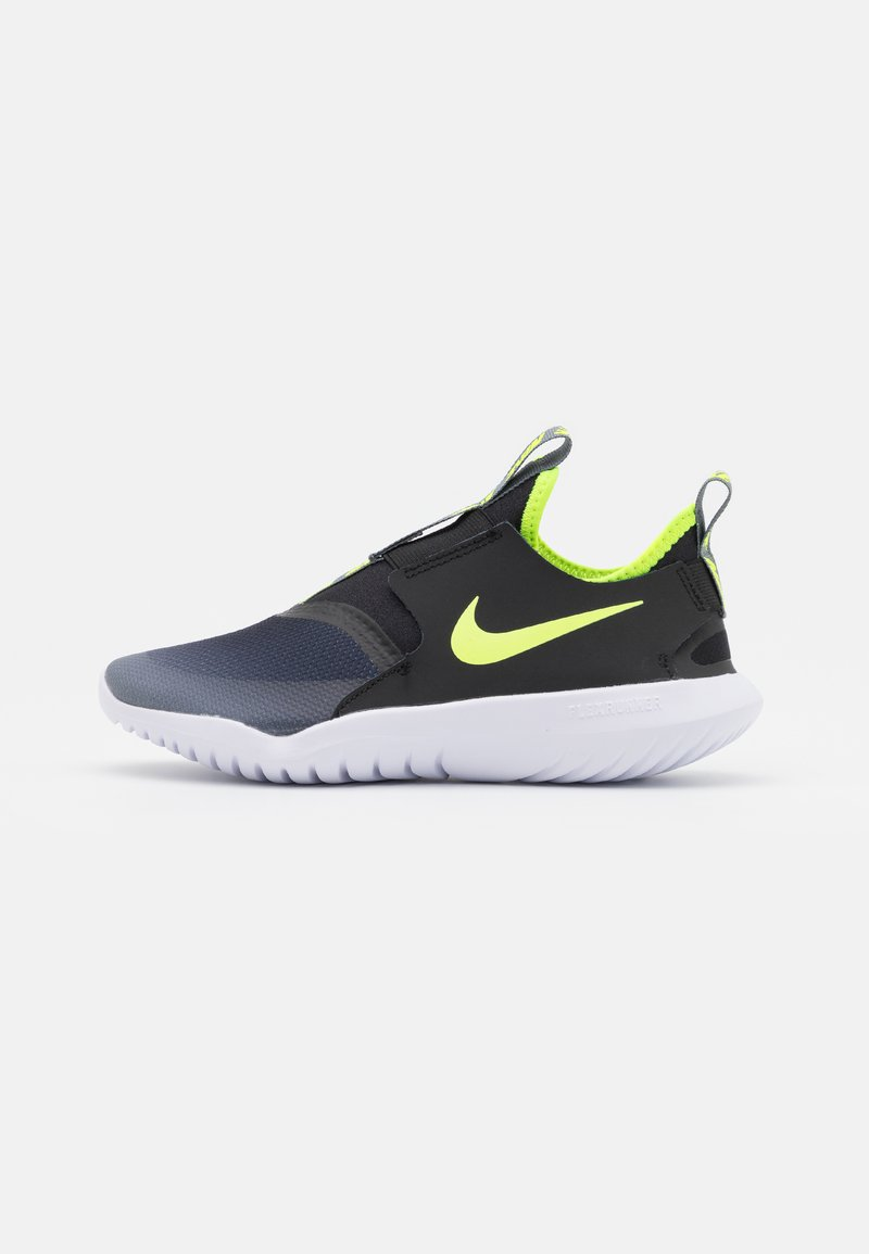 Nike Performance - FLEX RUNNER UNISEX - Juoksukenkä/neutraalit - smoke grey/volt/black/white