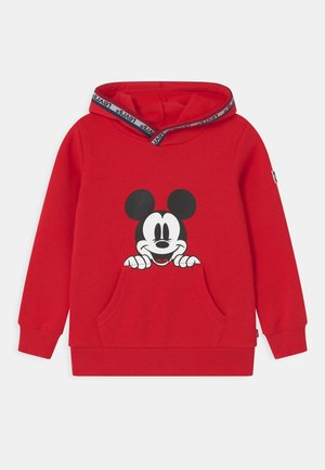 MICKEY MOUSE POCKET HOODIE UNISEX - Sweat à capuche - super red