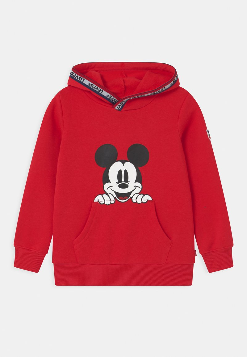 Levi's® - MICKEY MOUSE POCKET HOODIE UNISEX - Hoodie - super red