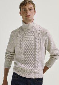 Massimo Dutti - Sweter - grey - 0