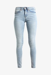NMLUCY TINTED - Jeans Skinny Fit - light blue denim