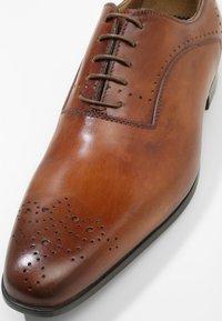 Giorgio 1958 - Elegantní šněrovací boty - ferrara/noce - 5