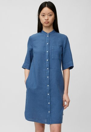 Shirt dress - lake blue