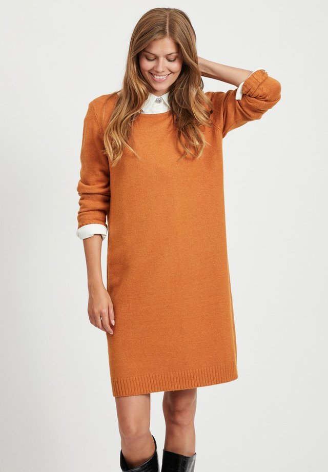VIRIL DRESS - Jumper dress - pumpkin spice