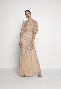 Lace & Beads - ROSE MAXI - Vestido de fiesta - cream - 1