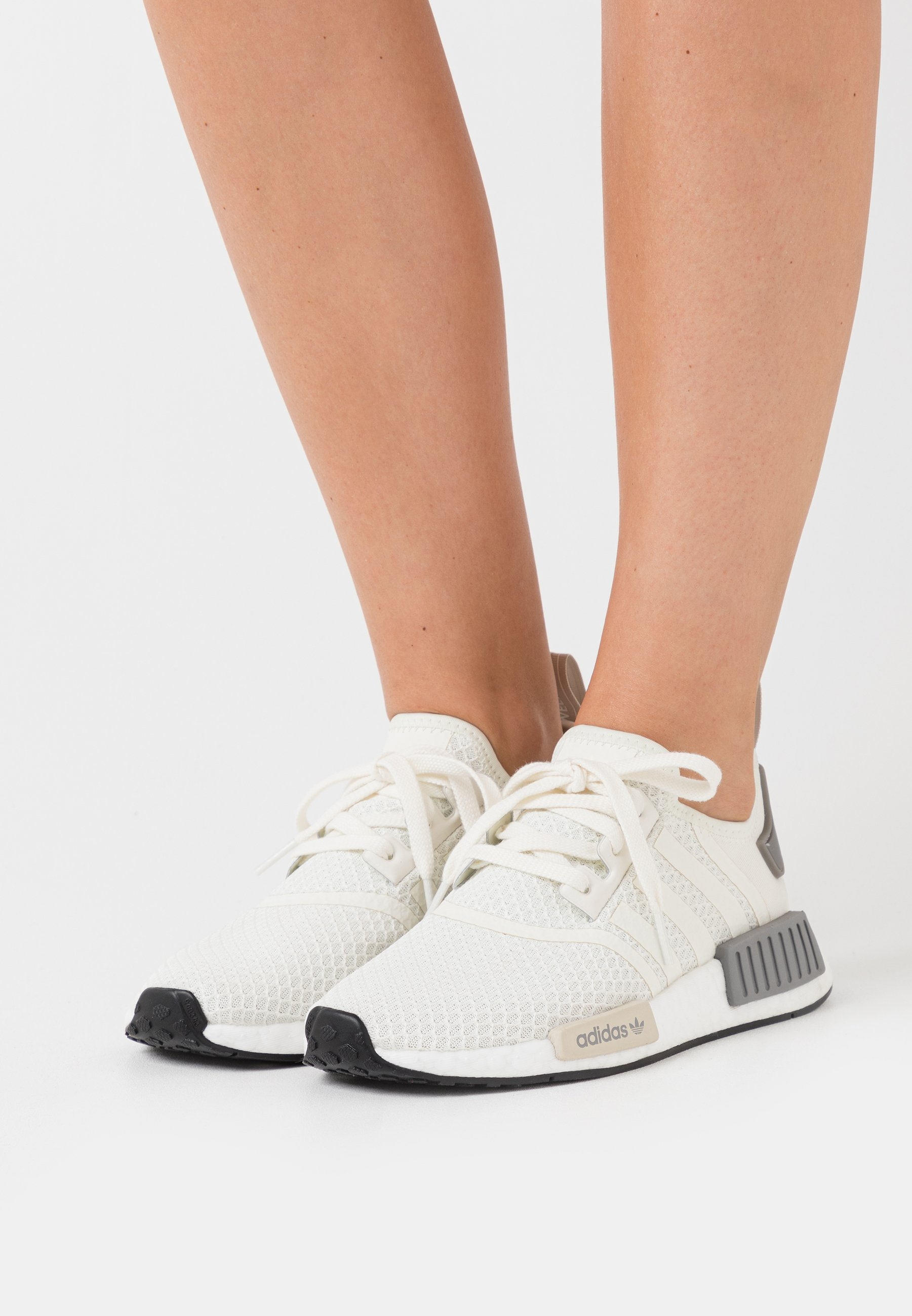 NMD_R1 BOOST SPORTS INSPIRED SHOES Sneakers offwhitecore browngrey three