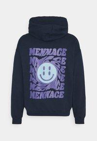 Mennace - TWISTED HOODIE UNISEX  - Sweat à capuche - blue - 6