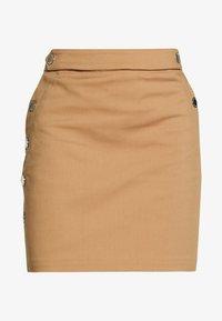 JILOLA - Minifalda - caramel