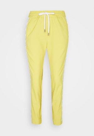Trousers - honey mustard