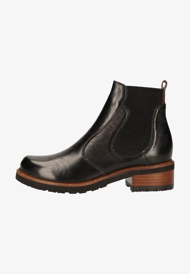 Classic ankle boots - ginger+vegetale black+dattero