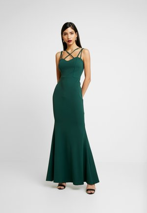 THIN STRAP MAXI DRESS - Occasion wear - forest green