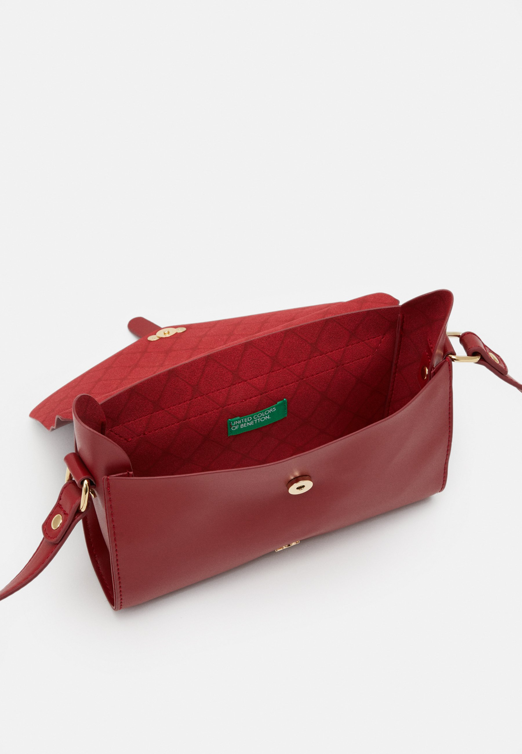 Benetton Bag - Umhängetasche Red/rot