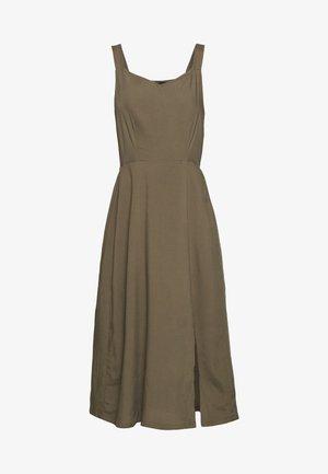 VMSIMPLY EASY STRAP CALF DRESS - Kjole - ivy green